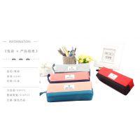 童珍步乐新款学生大容量笔袋韩版卡通猫咪动画牛津布创意文具盒