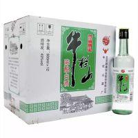 百年北京牛栏山二锅头新一代陈酿43度500ml*12瓶装 白酒整箱 包邮