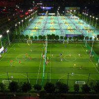 室外篮球场灯杆高度以及灯光配置、室外篮球场led照明灯 足球场