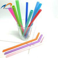 彩色硅胶吸管,食品级透明硅胶生产厂家