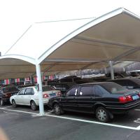东莞膜结构公司 膜结构汽车车棚