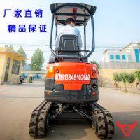 福建福州无尾回转迷你挖掘机使用寿命长 安装旋转抓木器 抓草机