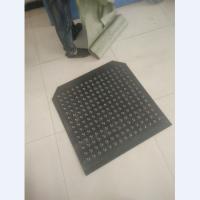 专业生产圆孔起凸性防滑板 鱼眼型防滑板 平台踏步板