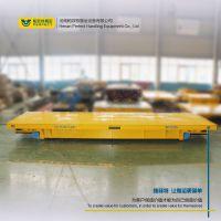 蓄电池电动平车轨道式电动平板车太阳能玻璃加工车间搬运设备