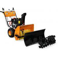 胶州手推式多功能扫雪机 汽油大马力铲雪机 普航三合一多用清扫机订购厂家