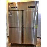 洛德QB1.0L4LD-H四门双温冰箱 四门冷柜 不锈钢商用冰箱