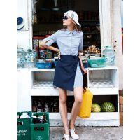 杭州米祖时尚女装厂家一手货源直供/颜可可品牌折扣尾货批发