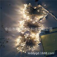 供应彩灯闪灯圣诞灯串满天星节日婚庆装饰灯树灯泡壳户外防水灯串