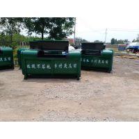 小型金属垃圾车垃圾箱价格图片