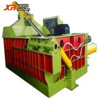 废旧金属压块机 全自动易拉罐废钢销压块机 优质易拉罐废料压块机
