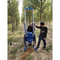 太阳能光伏支架打桩机便携式地螺丝打桩设备服务为先鼎力