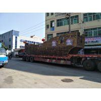 重庆可定制外形尺寸木船—地产儿童游乐帆船(振兴)