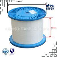 进口机器生产  汽车坐垫用  0.25mm PET  乳白色涤纶单丝