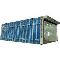 供应陕西西安 全自动移动伸缩房 水帘柜 喷漆房 诚招代理商