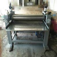 铝板加热贴面机 镀锌板热熔胶机 热熔胶胶合板木材涂胶机