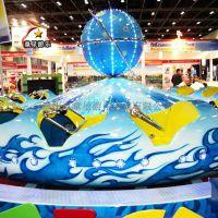 小型游乐设备定制童星游乐飞天转盘受游客青睐的项目