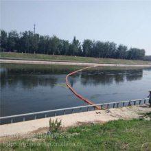 水电站拦污装置河道飘浮物拦截网浮漂生产商