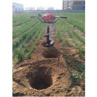石河子果园移植汽油挖坑机 全优新型打孔机价格