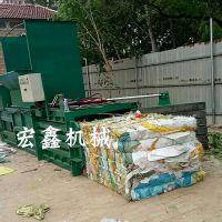 160吨全自动废纸打包机 编织袋打捆机厂家 小型30T打包机价格