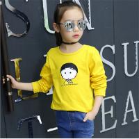 2018秋季新款儿童长袖t恤 韩版童装长袖t恤 库存外贸地摊货源t恤