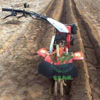 果园汽油旋耕培土机大葱种植开沟机效果怎么样富民牌耕地机