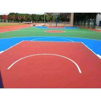 永州公园新建篮球场造价/东安社区健身塑胶篮球场施工队