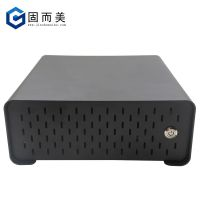 迷你小机箱台式微型主机桌面卧式miniITX机箱外壳特殊尺寸可定制