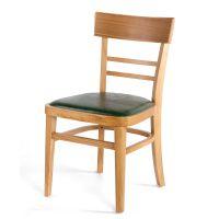 厂家直销 餐厅软垫木质椅子 西餐厅咖啡厅椅子