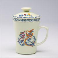 中式陶瓷茶杯 送礼陶瓷水杯 精美茶杯定制