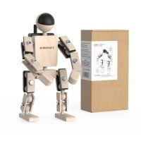 小也兔原创木制机器人玩具摆件3-12周岁圣诞礼物儿童DIY拼装玩具