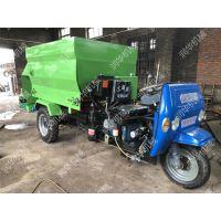 加工运料撒料一体机 生产大容量的喂料车 自驾式饲料撒料车厂家