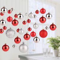 吊球球彩色家用大装饰可爱吊饰红色悬挂配件大号挂件场景天花板小