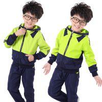 幼儿园园服秋冬装套装中小学生校服拼色幼儿园服定制小学校服定制