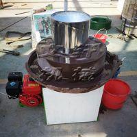 厂家直销青石石磨机 艾绒加工设备 养生保健用石磨