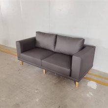 牛排店扶手休闲沙发,个性简约咖啡馆皮制卡座沙发定做
