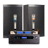 会议室音响套装狮乐AV2018/BM10/SH28 KTV音响套装 家庭影院卡拉OK功放音箱话筒设备