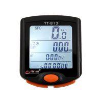 正品博格尔813码表 自行车有线码表 公里表里程表 全屏背光 防水