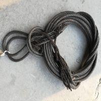 惠鑫插编绳套钢丝绳成套索具 编制钢丝绳吊装绳带
