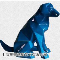上海塑景工厂直销不锈钢切面动物雕塑酒店公园景区摆件制作