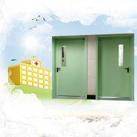 金华医院钢制门厂家 镀锌钢板病房钢制门 手术室专用净化门