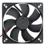 经销供应 12厘米黑色电脑深圳含油CPU风扇 DIY风扇配件