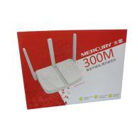 水星三天线300M光纤无线路由器MW313R桥接穿墙wifi家用信号放大