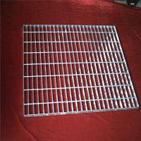 地沟钢格栅 工业平台格栅网 防滑踏步板