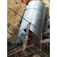云南钢波纹涵管施工 金属波纹涵管价格 桥涵隧道加固排水