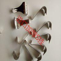 画展 展览 钢丝绳挂钩 不锈钢S挂 1.0mm加厚S挂 油画相框挂钩