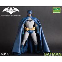 Crazy Toys蝙蝠侠大战超人12寸关节超可动 蝙蝠侠 蓝色版手办批发