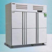 美厨六门风冷冷藏冰箱 AER6六门高身高温雪柜 美厨商用风冷冰箱