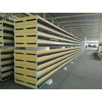 通化彩钢聚氨酯保温板冷库板1000型聚氨酯新型颜面夹心板防火