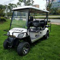 傲森供应AS-006 霸气防撞栏6人座山区林区电动高尔夫球车观光车