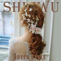 新娘迎蕾韩式超仙手工羽毛发饰新娘头花结婚头饰婚纱配饰发夹
